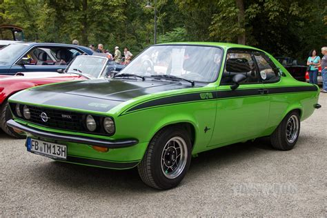 1975 Opel Manta by 1975 Opel Manta Gt E Front View 1970s Paledog Photo