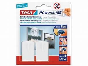 Tesa Powerstrips Haken : tesa powerstrips bildernagel haken kaufen modulor ~ Frokenaadalensverden.com Haus und Dekorationen