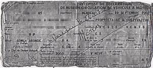 Carte Grise Barrée 2 Fois : ma simca p60 toile 6 1960 sortie de grange ~ Gottalentnigeria.com Avis de Voitures