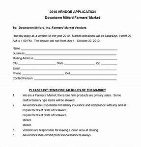 vendor application template 12 free word pdf documents download free premium templates With vendor form template