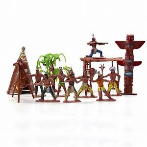P2518 Moldel Figures Indian Tribes The Best Wild West