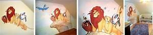 König Der Löwen Tapete : sweetwall wunschmotive f r deine wand wandmalerei f r kinderzimmer kinderzimmer ~ Frokenaadalensverden.com Haus und Dekorationen