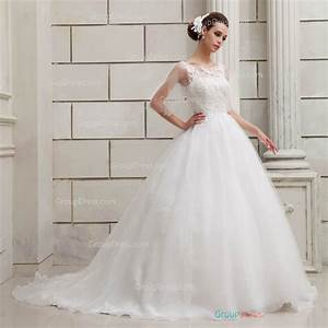 a line feminine lace patterns organza wedding dress With organza a line wedding dress