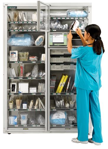 automated dispensing cabinets pyxis software supply management automated hospital