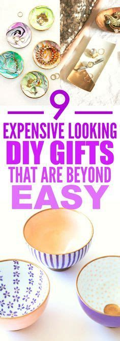 9 Expensive Looking Easy Diy Gifts  Easy Crafts