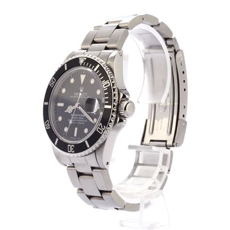Buy Used Rolex Submariner 16800 | Bob's Watches - Sku: 120000