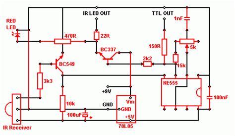Xantech Ir Receiver Wiring Diagram by Ir Extender Circuit