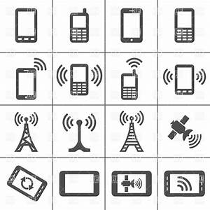 Mobile devices and wireless technology Simplus icons ...