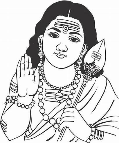 Murugan God Clipart Vector Indian Bala Lord