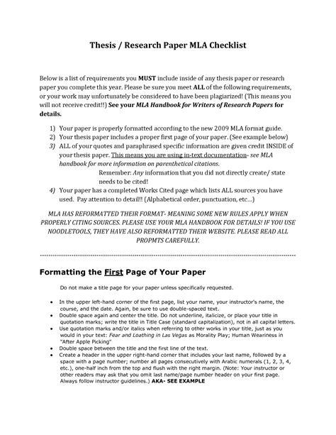mla format essay exle essay in mla format najmlaemah