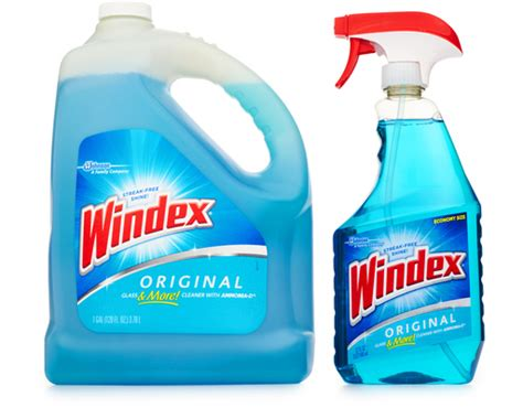 Windex Glass Cleaner 32 + 128 Oz.