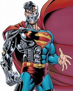 Cyborg Superman - DC Comics - Henshaw - Character profile ...