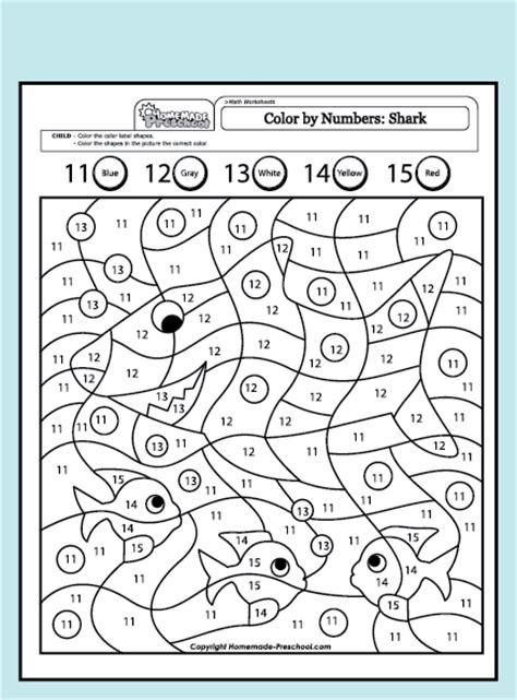 math numbers 11 to 15 worksheet math best free printable