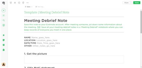 To Do List Evernote Template by 21 Evernote Templates Workflows To Skyrocket