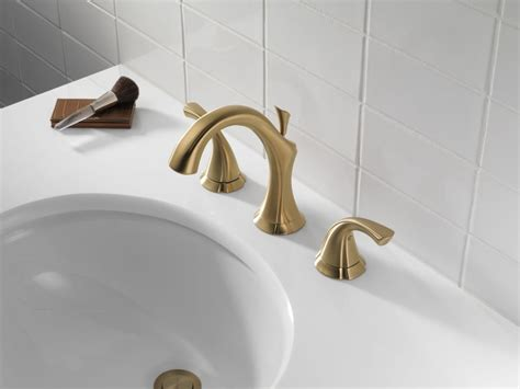 Faucetcom 3592lf Cz In Champagne Bronze By Delta