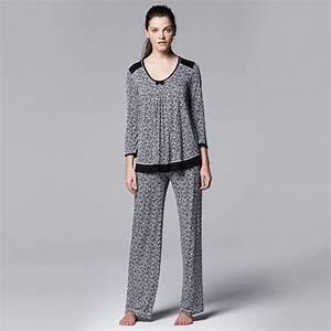 Women 39 S Simply Vera Vera Wang Pajamas Keeping Secrets