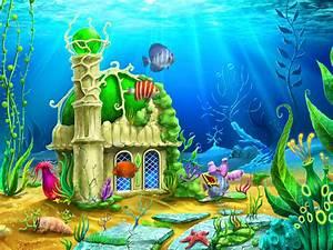 Aquarium clipart animated - Pencil and in color aquarium ...