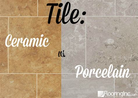 difference between porcelain and ceramic tile ceramic vs porcelain flooringinc blog