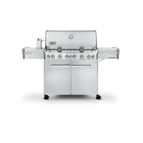 weber summit s 670 cover weber summit s 670 gbs stainless steel barbecue por 4499 euros