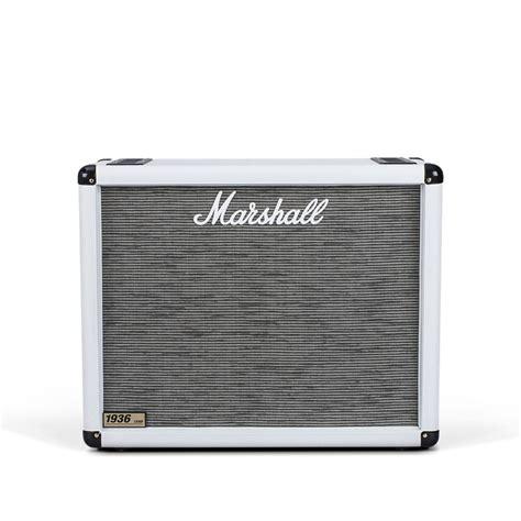 marshall 1936 2x12 cabinet marshall 1936 2x12 39 39 guitar speaker cab arctic white at