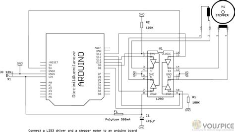 Arduino Motor Driver With Youspice