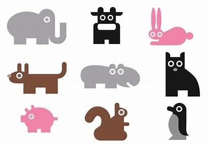 Simple Vector Animal Pack Drawing Farm Brushes