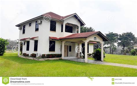 New Bungalow House Stock Photo Image Of Design, House