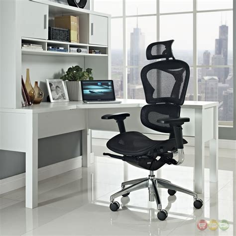 lift high back fully equipped ergonomic office chair w