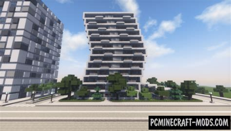 modern hotel map for minecraft 1 15 1 14 4 pc java mods
