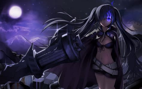 1680x1050 Wallpaper Anime - black rock shooter wallpaper and background 1680x1050