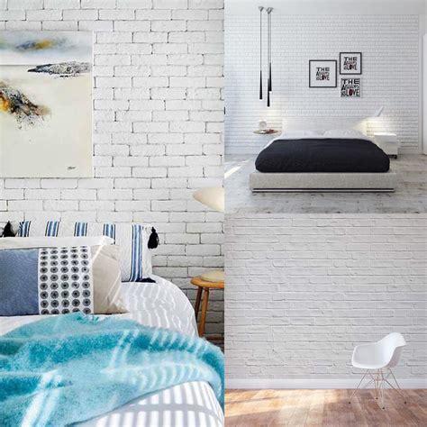 white brick wall interior designs home designs