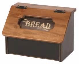 amish kitchen furniture amish pine bread box