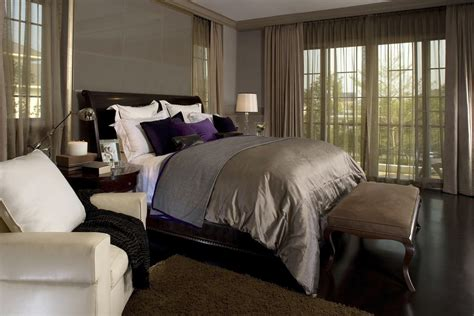 purple and brown bedroom ideas ideas for decorating the bedroom with brown 19527 | glamourous brown 58a6af1f3df78c345b124e07
