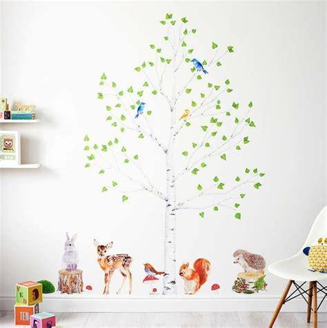 Wandtattoo Kinderzimmer Baum by 35 Wandtattoos Baum Die Einen Hauch Natur Nach Hause Bringen