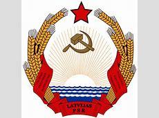 Emblem of the Latvian Soviet Socialist Republic Wikipedia