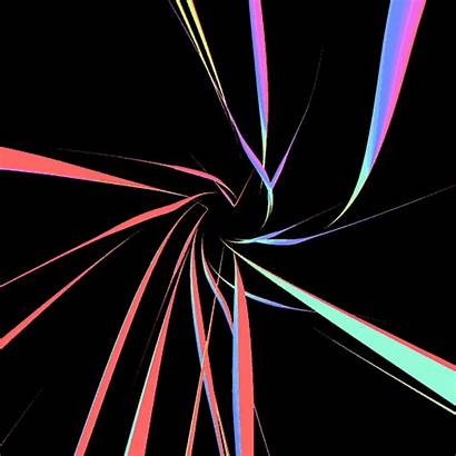 Abstract Lines Loop Rainbow Giphy Background Animated