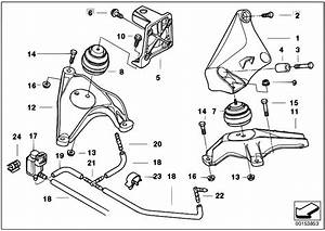 Original Parts For E39 525d M57 Touring    Engine And