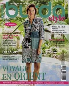 les magazines d39avril 2016 burda tendances mode la bobine With burda tendance mode