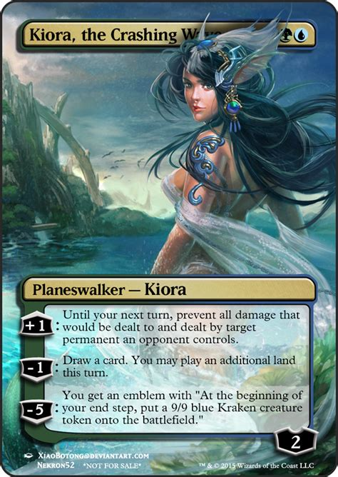 Kiora The Crashing Wave Duel Deck by Kiora The Crashing Wave Mtg Magic Cards