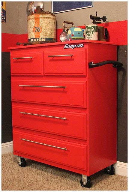 Tool Box Dresser Ideas by Vintage Garage Nursery Snap On Toolbox Dresser