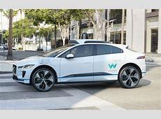 Jaguar and Waymo announce driverless car project using I