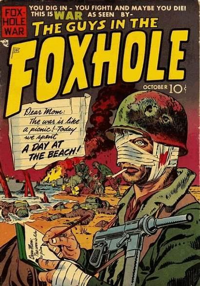 Foxhole Kirby Jack War Comics Mainline Aristocrats