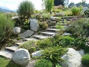 jardin paysager decorer son jardin avec de la pierre With amenagement jardin avec pierres 16 fleurir un escalier
