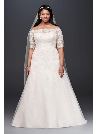 jewel  sleeve  size wedding dress davids bridal