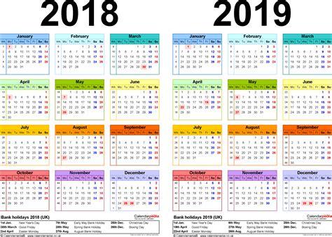 2018 2019 academic calendar template 2019 calendar canada 2018 calendar printable