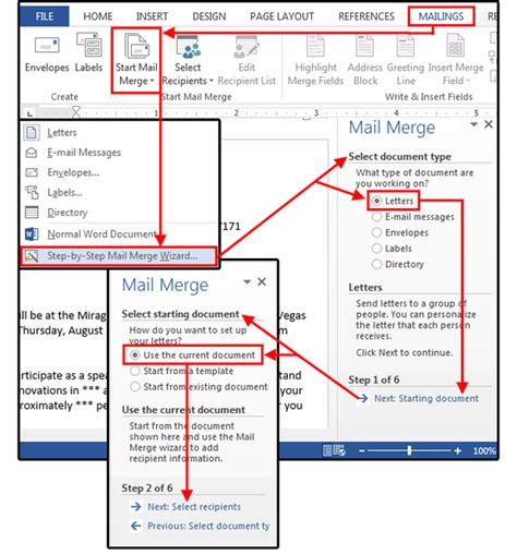 mail merge master class   merge  excel contact