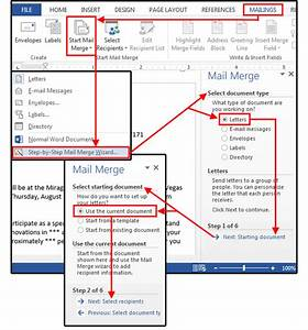 Mail merge master class how to merge your excel contact for How to create a mail merge template
