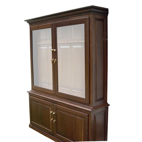 Gun Cabinet by Amish Woodworking 50515c Heritage Ii 16 Gun Cabinet