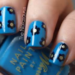 Day flowers the nailasaurus uk nail art