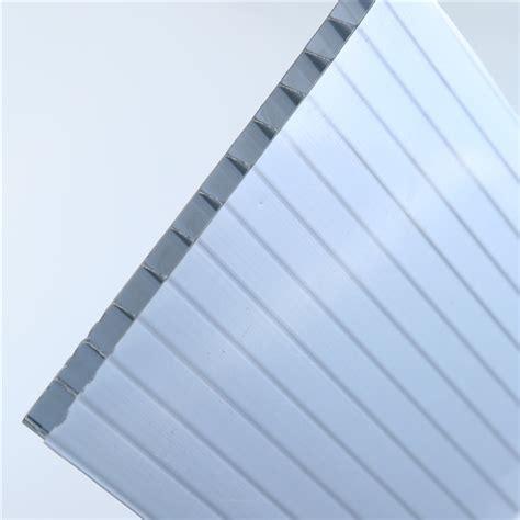 uv coating grade  mmmmmmmmmm twin wall polycarbonate hollow pc sheetpc plastic raw
